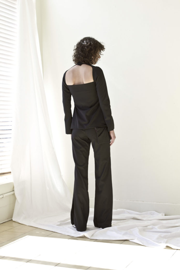 The Split Pant (Black)