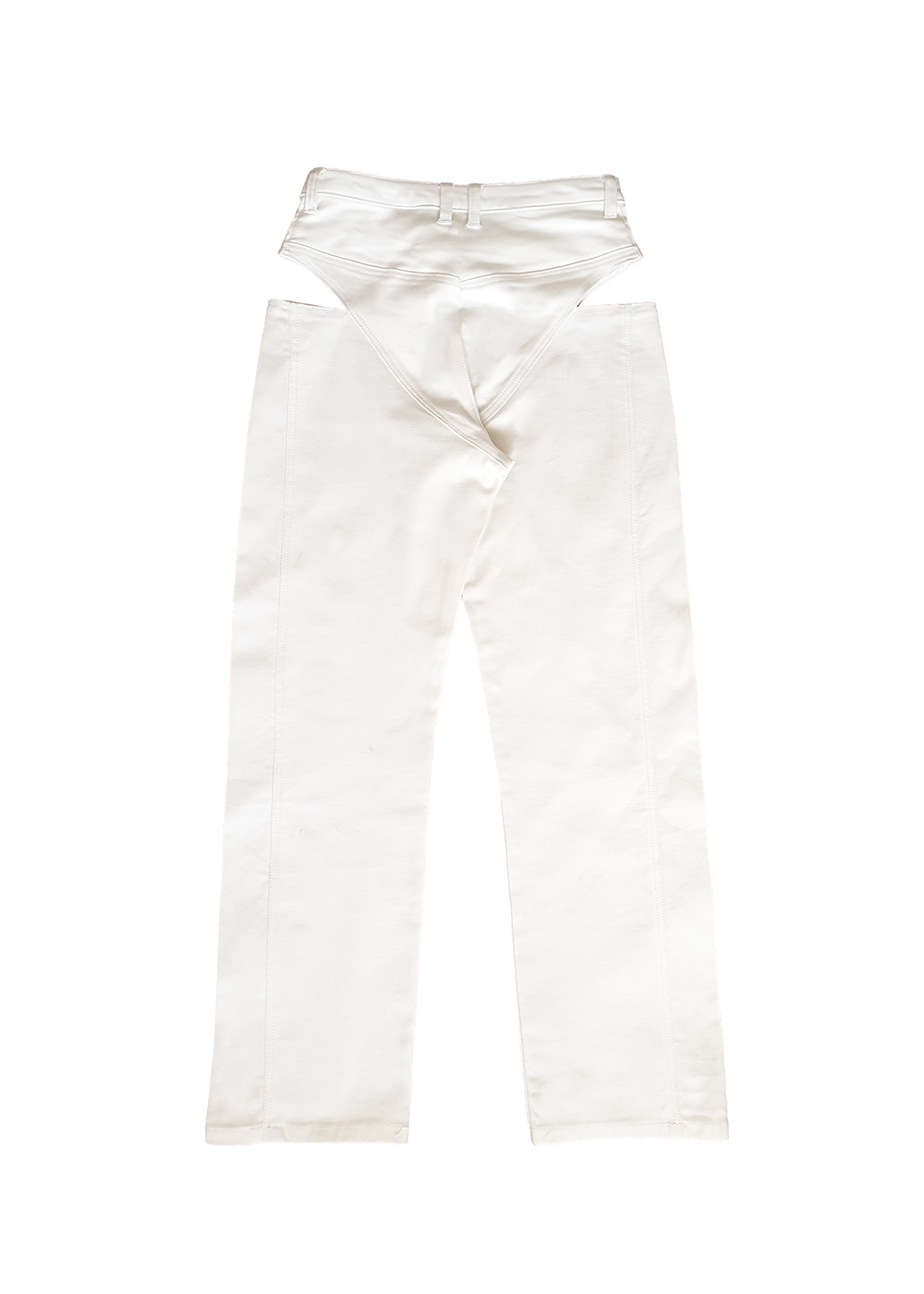 The Risqué Jean - White